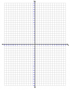 4 Quadrant Numbered Graph Paper
