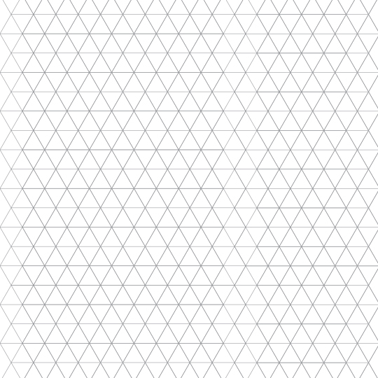 Triangle Graph Paper